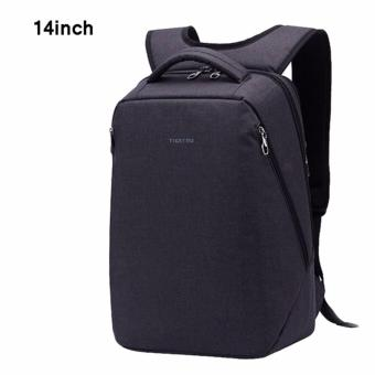 Harga Tigernu 14 Inches Fashion School Teenager Bag Large Capacity Causal Laptop Backpack3164(Black)