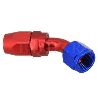 Oil Fuel Line Hose End Fitting 45°AN10 - 2