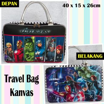 POWERFUL Source · TRAVELBAGMURAH Travel Bag Kanvas AVENGER