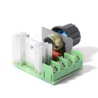 2000 Watt Tegangan Pengatur Lampu Dim Motor Pengendali Suhu Kecepatan Thermost TE478 -