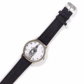 Harga Paroparoshop Vintage London Watch - Black