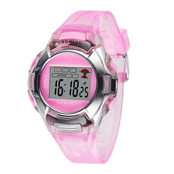 Harga Fashion PVC Band Student Electronic Watch