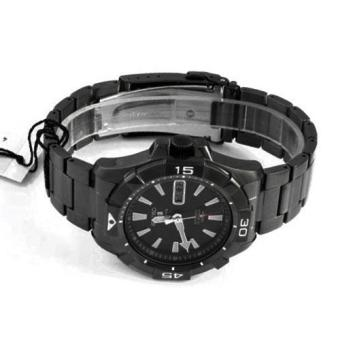 Gambar Produk Seiko Watch 5 SPORTS Black Stainless-Steel Case Stainless-Steel Bracelet Mens NWT + Warranty SNZH15K1 Lengkap