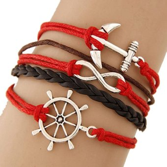 Harga Cannice Gelang Vintage Korea Red Wheel