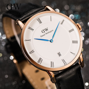 Harga DW watches casual watch couple watch business watch quartz