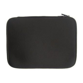 Harga CCC Laptop Softcase 12 inch - Notebook Soft Case with Zipper - Ritsleting Aman - Hitam