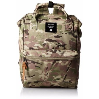 Harga 【Ship from Japan】[Anello] backpack mouthpiece rucksack AT-B0193A thin camouflage - intl