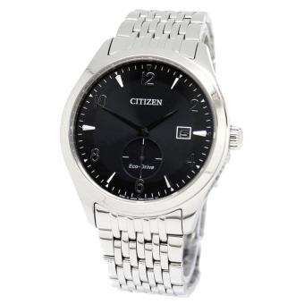 Citizen Watch Eco-drive Silver Stainless-Steel Case Stainless-Steel Bracelet Mens Japan NWT + Warranty BV1100-55E ...