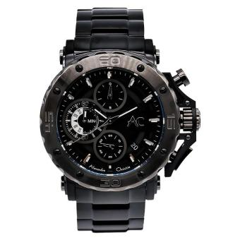 Harga Alexandre Christie ACF-9205-MCBEPBA Pria Stainless steel - Black