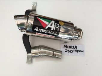 Harga Austin Racing Knalpot Gp2R Titanium Can Slip On Made in Thailand for Ninja 250