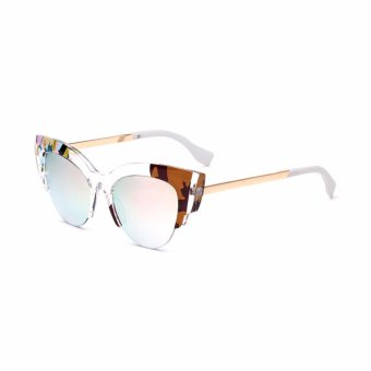 Oulaiou Fashion Accessories Anti UV Glasses Trendy Reduce Glare Sunglasses OFF0178 intl 3 .