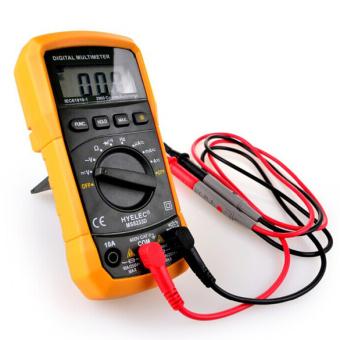HYELEC MS8233D LCD Meteran Digital AC DC Tegangan Penguji Multitester Pengukur Amper ...