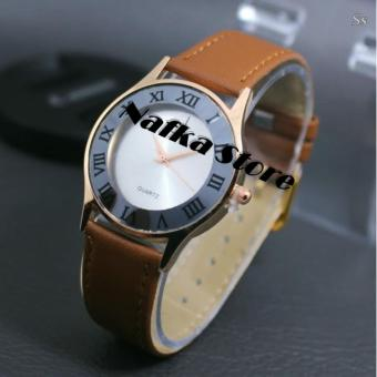 OEM CHINA Jam Tangan Wanita Fashion Leather Strap
