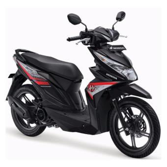 Harga Honda - BeAT Sporty CW - Hard Rock Black