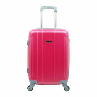 Koper Polo Hoby 707 ABS Kabin - Pink 20 Inch