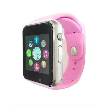 Harga Aiwatch U10 Smart Watch Touch Screen + GSM - Pink
