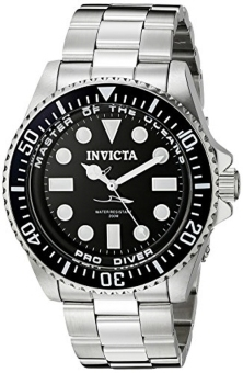 Invicta Mens 20119 Pro Diver Analog Display Swiss Quartz Silver Watch - intl