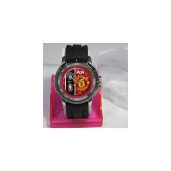Jam Tangan Custom New Design Logo Manchester United Aon
