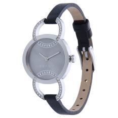 Jam Tangan Esprit ES109072002 Wanita Black Leather