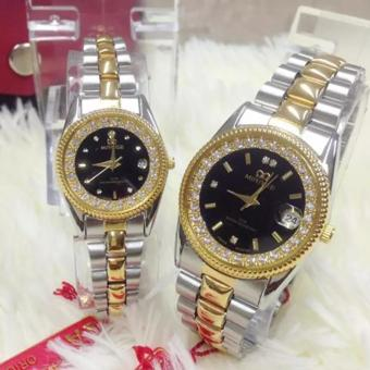 Jam Tangan Mirage couple-MR119HA- strap Stainless