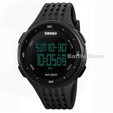 Jam Tangan Skmei Sport Led Digital 1219 Water Resistant - Black