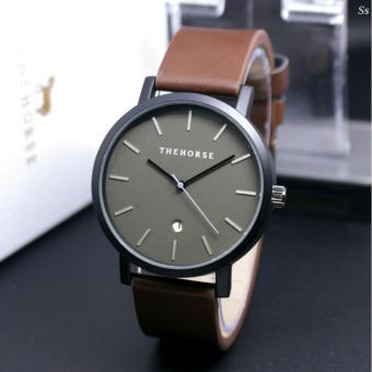 JAM TANGAN THE HORSE-LEATHER STRAP BROWN-FOR MAN