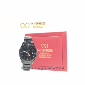Gambar Jam Tangan Wanita MirageWatch 7570L Black Merk: Mirage