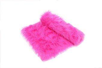Jason Alas Bulu Dashboard Mobil Pink Fanta Bulu Panjang
