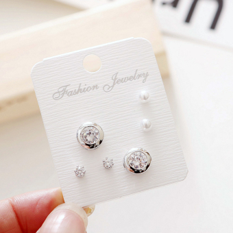 Jianyue hypoallergenic perempuan style anting-anting anting-anting