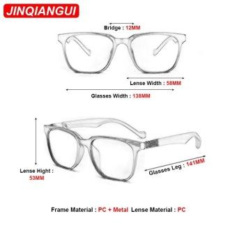 Harga JINQIANGUI Sunglasses Women Round Retro Titanium Frame Sun GlassesBlack Color Eyewear Brand Designer UV400 intl Terbaru klik gambar.