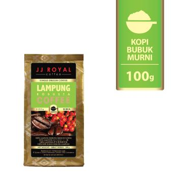 JJ Royal Coffee Lampung Robusta Ground Bag - 100 Gr