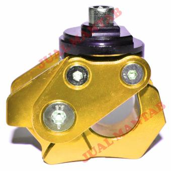 Detail Gambar JM Gantungan Barang Robot Lipat Cnc - Gold dan Variasi Modelnya