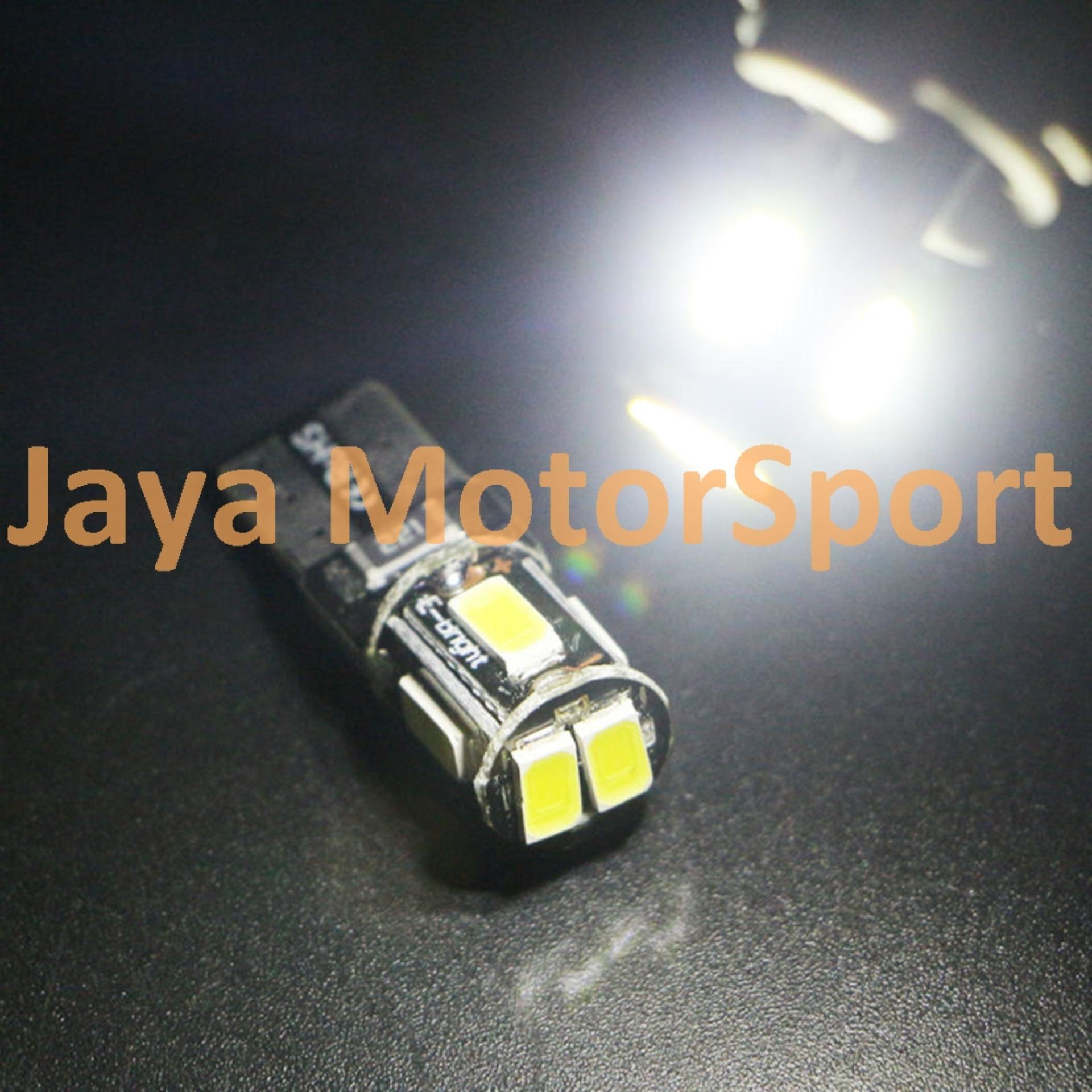 ... JMS - 1 Pcs Lampu LED Mobil / Motor / Senja T10 w5w / Wedge SideCanbus ...