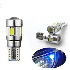 JMS - Lampu LED Mobil / Motor / Senja T10 Canbus 6 SMD 5630 -Crystal