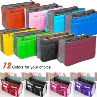 In menyisipkan agenda wisata Tas Wanita Tas tangan besarpenyelenggara rapi di dalam tas kantong (aneka warna) Terbaru