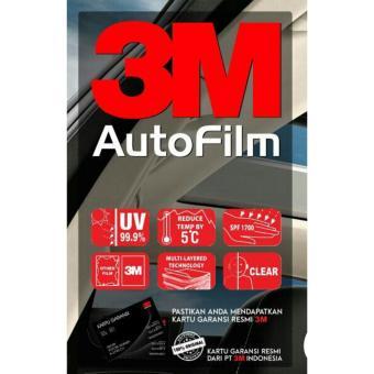 Kaca Film Mobil 3M Garansi Resmi Full Black Beauty - Small Car - 2