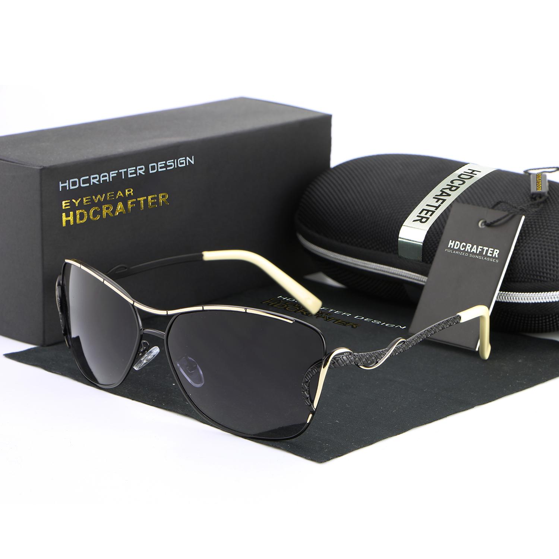 Kaca mata wanita HD kacamata terpolarisasi untuk mengendarai mobil mewah  kacamata Fashion cermin . 7c9d7e7f45
