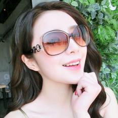 Kacamata Hitam Polarisasi Wanita Retro Gaya Korea
