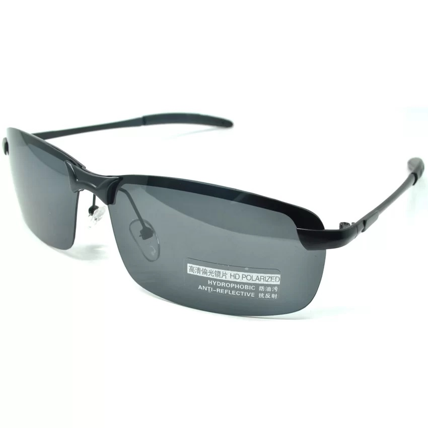 Kacamata Hitam Polarized Sunglasses untuk Pria & Wanita - 3403 - Black