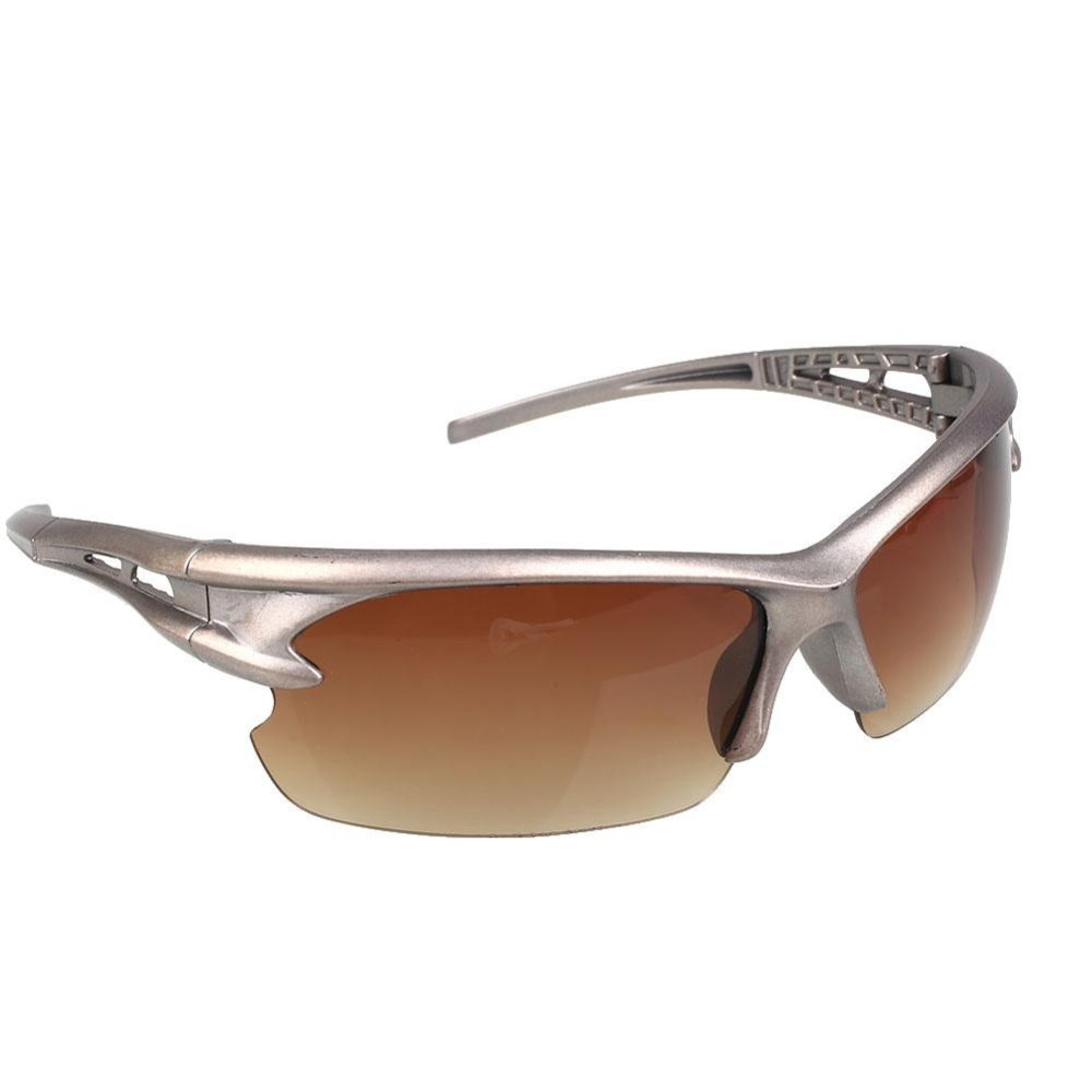 kacamata olahraga berkendara bersepeda berjemur pandangan malam UV400 mengemudi