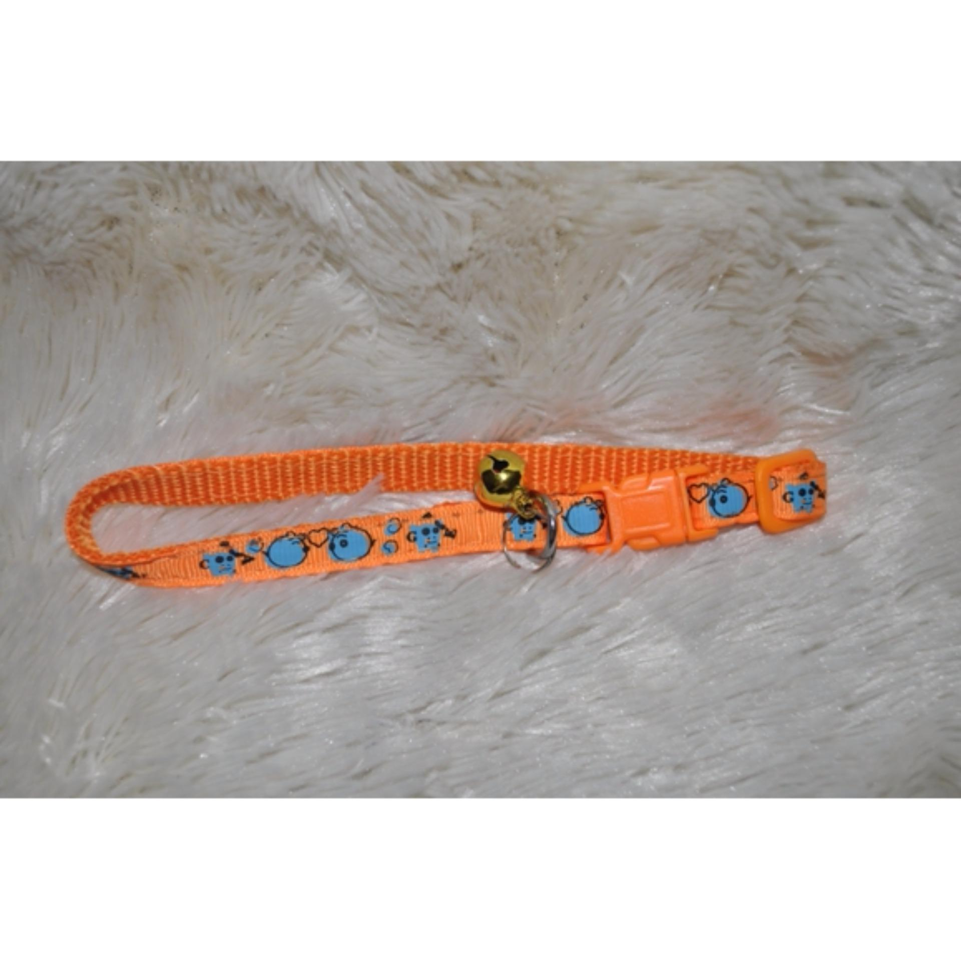 kalung hewan import Shinning Collar-Orange