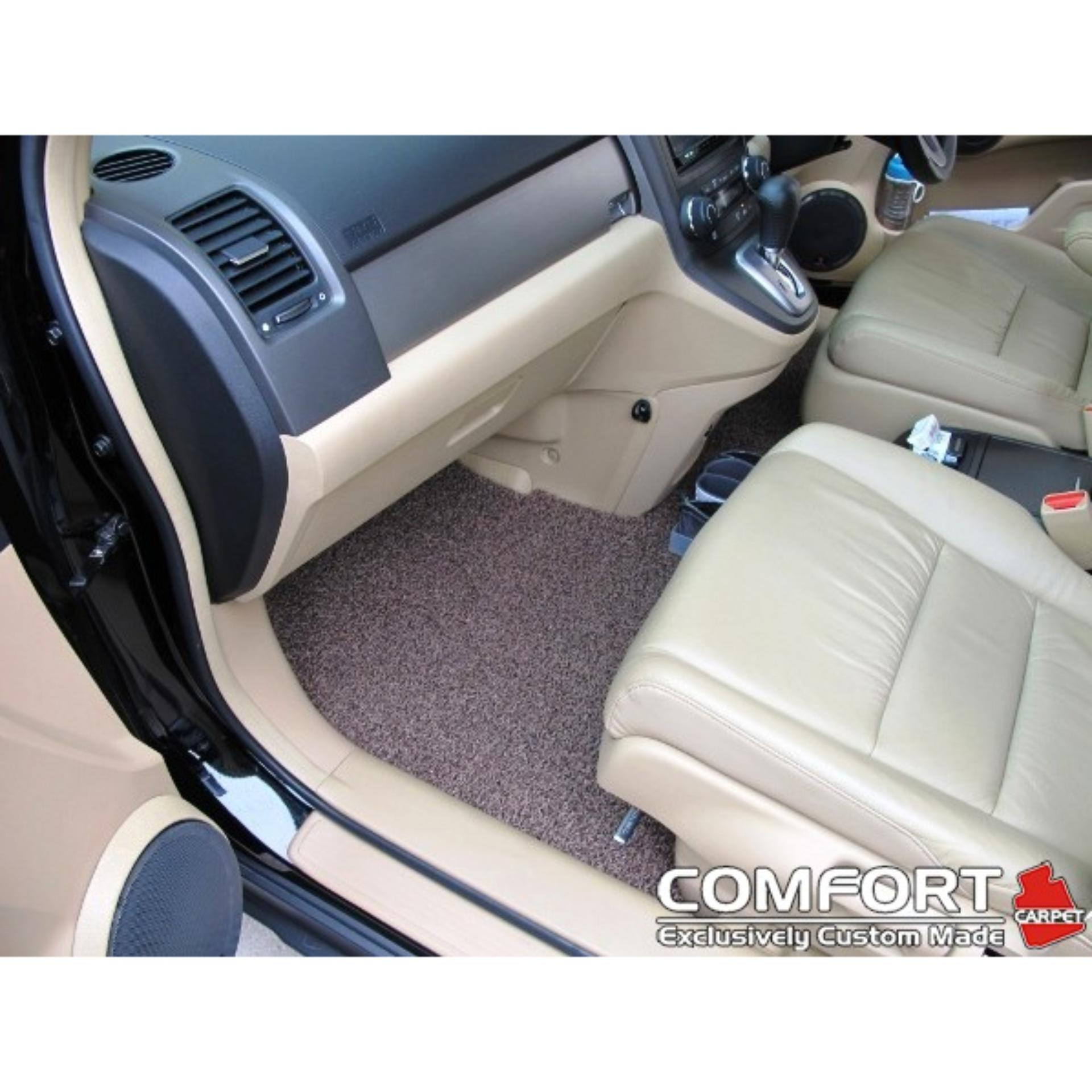 Daihatsu Sirion Karpet Mobil Comfort Deluxe 12mm Car Mat Full Set Toyota Camry Bagasi Mazda 2 All New Hatchback Premium Originalcomfort