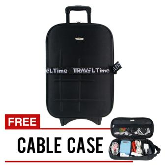koper traveltime - 5441 black + Free cable case 813 Free Ongkir JABODETABEK