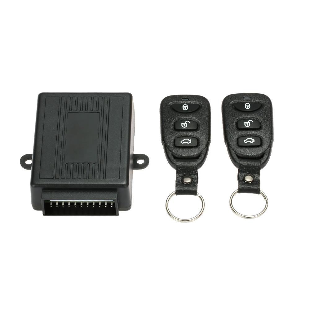 Kunci pintu tanpa kunci mobil Universal sistem entri dengan tombol remote mengendalikan pelepasan .