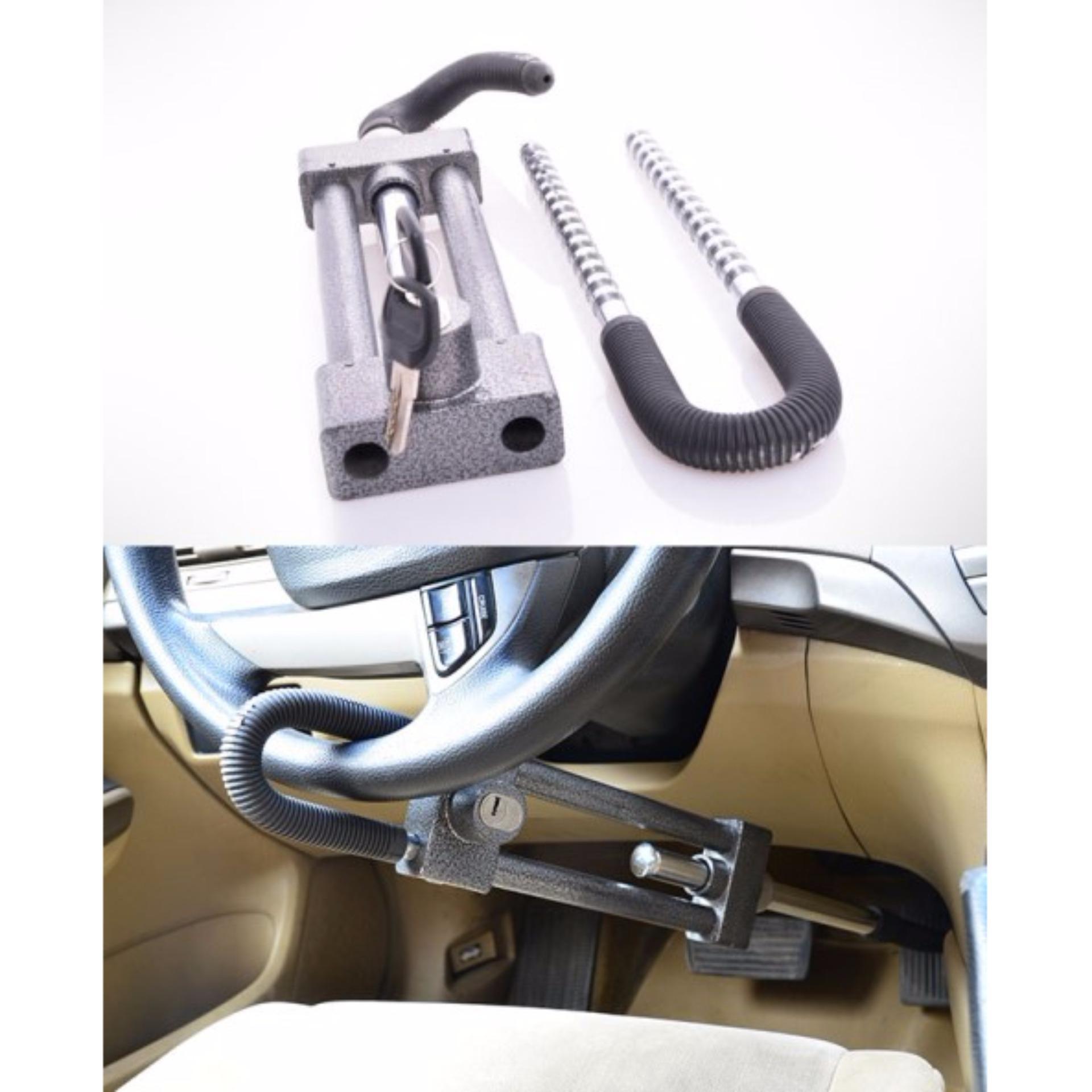 Sloof Kunci Pengaman Stir Mobil Ke Pilar Anti Maling Daftar Harga Oklock P1 Stang Model 3pin Di Bagian Dengan Pedal
