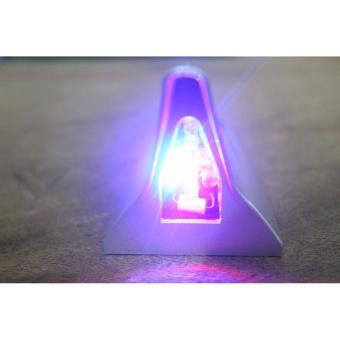 ... Lampu Sirip Hiu SILVER shark fin tail light Tenaga Surya Matahari Solar Power Cocok Untuk Semua ...