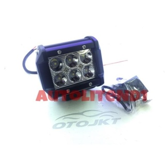 LAMPU SOROT OFF ROAD 6 Titik SUPERBRIGHT 18W