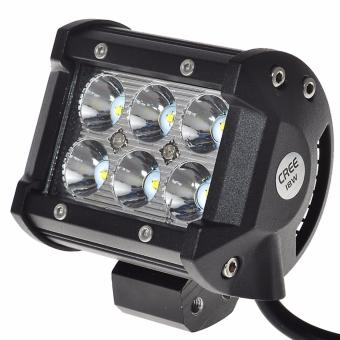 Lampu Tembak Sorot LED Cree 18W 6 Mata LED Spot Light Work Light