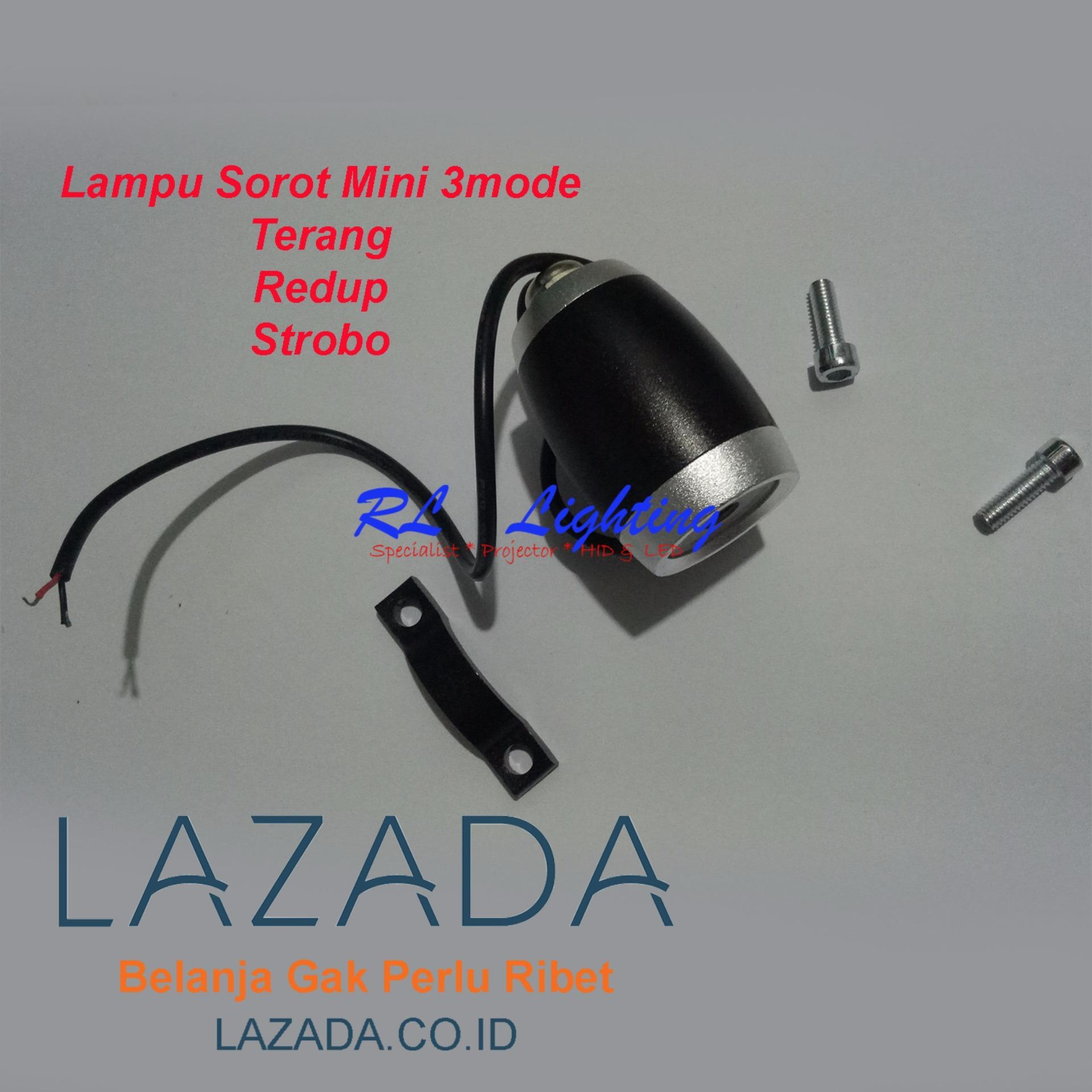 Tmpoto Strobo Biru Colok Lighter Daftar Harga Terbaru Roof Top Atap Federal Signal 6 X Ori Led Sorot Mini 3mode