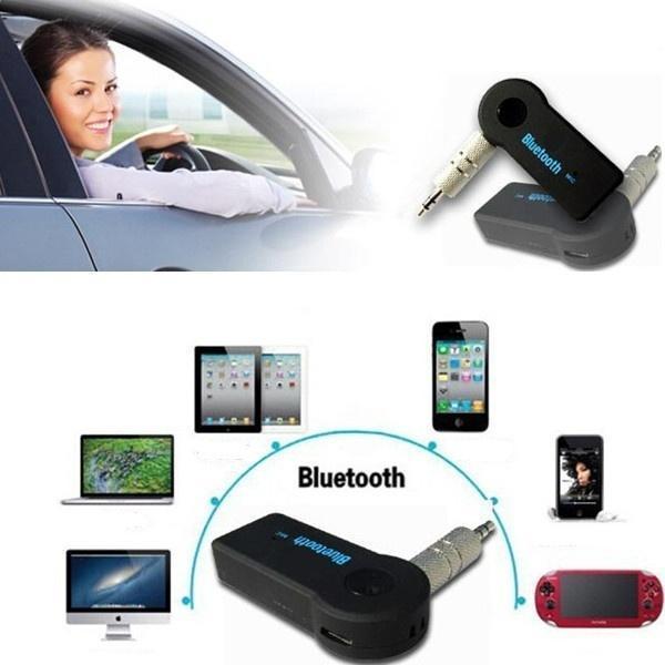 leegoal 3,5 mm Stereo Audio mobil tambahan penerima musik nirkabel Bluetooth .